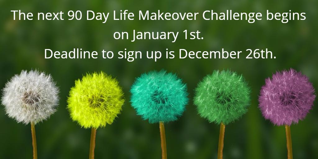 2018 Life Makeover Challenge